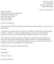 Social Work Cover Letter Examples Cover Letters That Work