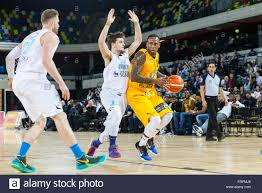 London, UK, 22nd March 2016. Lions' Alex Owumi (12) pushes through Stock  Photo - Alamy