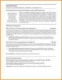 Example Of Accounting Resume Simple Senior Accountant Resume Examples Sarahepps