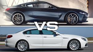 2018 bmw eight series. wonderful bmw 2018 bmw 8 series vs 2016 6 gran coupe youtube intended for  in bmw eight series