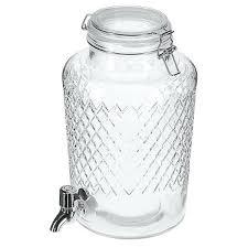 glass lemonade dispenser drinks with tap nz
