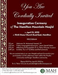 pictures of flyers invite of mayoral inauguration sample invitation letter grand opening ceremony refrence sample
