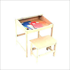 student desk and chair set wooden desk for child kids art desk with paper roll child student desk and chair set