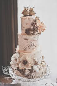 One Of A Kind Wedding Cakes From Artisan Cake Company Owl Cake