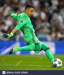 Real Madrid Torwart Keylor Navas Stockfotografie - Alamy