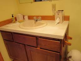 Bathroom  Narrow Depth Bathroom Vanity With Granite Countertop - Bathroom vanity remodel