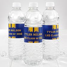waterbottle labels personalized water bottle labels graduation school spirit
