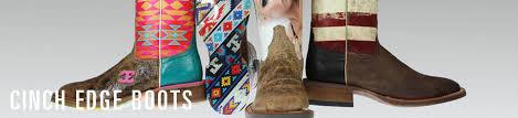 Cinch Edge Mens Boots