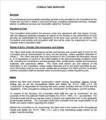 Consulting Agreement In Pdf Extraordinary 44 Consulting Agreement Template Short Grow New Creativity Top
