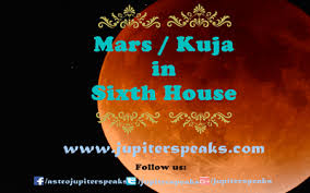 Jupiter In 6th House In Navamsa Chart 9 Enigmatic Role Of Mars In 6th House In Horoscope Mars In