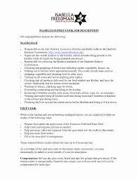 Kitchen Manager Resume Sample Staff Job Description For Purchasing