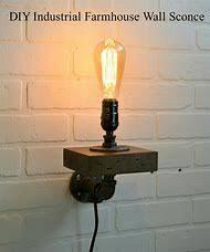 Diy industrial lighting Industrial Light Fixture Industrial Farmhouse Wall Sconces Bing Best Diy Industrial Lighting Ideas And Images On Bing Find What
