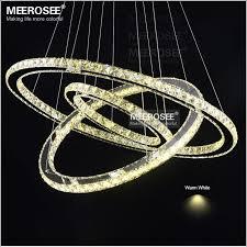 Hot sale Diamond Ring LED Crystal Chandelier Light <b>Modern</b> LED ...