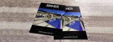White Brochure Brochures Full Colour Brochures Black And White Brochures