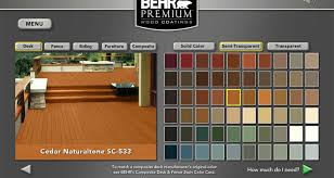 colors of wood furniture. BEHR Exterior Wood Care Center -Color Selection And Visualization Colors Of Furniture