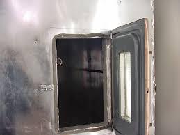 diy powder coating oven door