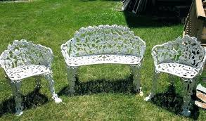 Vintage Cast Iron Patio Furniture Luxury Design Cast Iron Garden