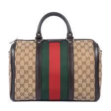 gucci bags india. gucci gg canvas vintage web boston bag 1 bags india