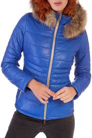 <b>Кожаная куртка AD MILANO</b> арт DAR570_BLUETTE BLUE ...