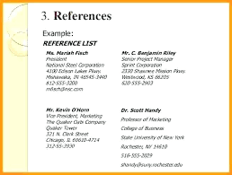 Resume Reference Examples How To Write References In A Resume Resume ...