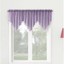living room curtains with valance. Crushed Sheer Voile 51\ Living Room Curtains With Valance A