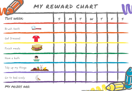 Printable Kids 8 Of The Best Free Printable Kids Chore Charts The Organizer Uk