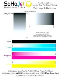 Epson Color Print Test Page 6 Color Printer Test Page Canon Laser Hp