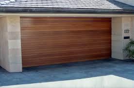 Contemporary Modern Wood Garage Door Doors R Intended Decor
