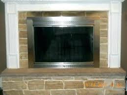 glass doors for fireplace fireplace door replacement glass glass doors for fireplace oil rubbed bronze fireplace