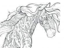 Horse Coloring Pages For Adults Horse Color Pages Feat Printable