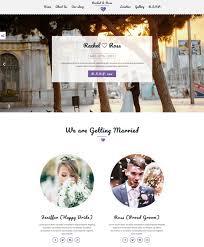 Wedding Website Template Amazing 48 Best Wedding Website Templates Free Premium FreshDesignweb
