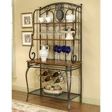 creative ways to decorate a baker s rack
