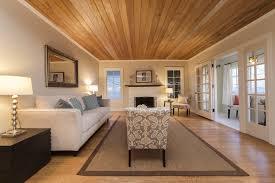 living room wood ceiling wood floors