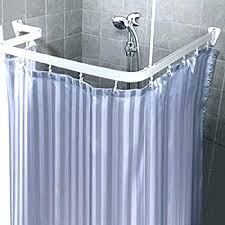 round corner shower curtain rod amazing round corner shower curtain rod awesome round shower curtain rod