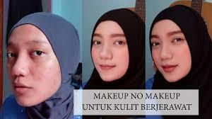 tutorial make up kulit jerawat