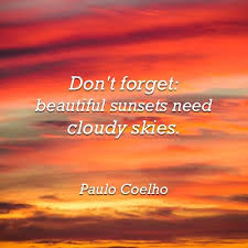 Quotes About Beautiful Sunsets Best Of Quote Of Paulo Coelho QuoteSaga