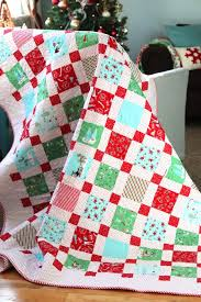 My Favorite Christmas Quilt Patterns & I finished a quilt in time for Christmas! Which isn't as impressive as it  sounds, considering I pieced the top last December (lol). Adamdwight.com
