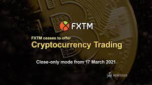 Bitcoin investment is good and you should not hesitate to get involved in it. Fxtm Stops Offering Cryptocurrency Trading Service Fxtm Hercules Finance