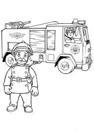 Kleurplaten En Zo Kleurplaten Van Brandweerman Sam