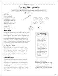 Fishing For Vowels Short Long Vowels Pocket Chart Game