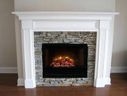 best 25 electric fireplace insert ideas on with off white mantel