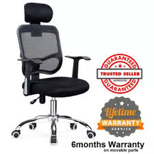 chair with headrest. ihome 31-1 mesh office chair with headrest (black)