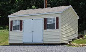 vinyl cottage style shed