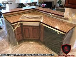 paint countertop resurfacing kitchen