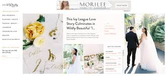 Top 10 Wedding Blogs On The Internet Today Blogging Org