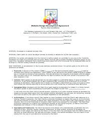 Project Contract Templates Bunch Ideas Of Website Maintenance Contract Great Sample Annual ...