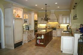fabulous central island kitchen unit. Fabulous French Provincial Kitchen Design Ideas With Brown Endearing Rectangle Shape Wooden Island Also White Hood Designs Cupboard Doors Central Unit U