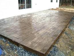 building a raised deck how to build a raised deck over concrete patio ideas pouring elevated building a raised deck