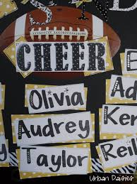 Urban Daisies Homecoming Cheer Poster Cheer Posters