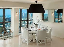 dining room design round table. White Corner Dining Table Design Room Round